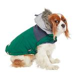 View Image 4 of Cabin Elasto-fit Dog Jacket - Dark Green