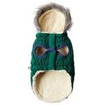View Image 2 of Cabin Elasto-fit Dog Jacket - Dark Green