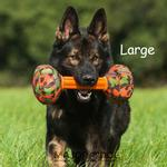 View Image 2 of Barbell Dog Toy by Major Dog