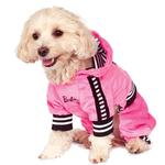 View Image 1 of Barbie Girl Velour Tracksuit Pet Costume by Rubie's