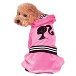 View Image 2 of Barbie Girl Velour Tracksuit Pet Costume by Rubie's