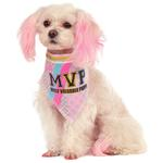 View Image 1 of Barbie Sporty Girl Reversible Dog Bandana