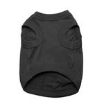 View Image 2 of Barking Basics Dog Tank Shirt - Black