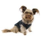 View Image 3 of Barking Basics Dog Tank Shirt - Black
