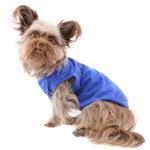 View Image 3 of Barking Basics Dog Tank Shirt - Blue