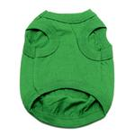 View Image 2 of Barking Basics Dog Tank Shirt - Emerald Green