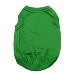 View Image 1 of Barking Basics Dog Tank Shirt - Emerald Green