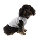 View Image 3 of Barking Basics Dog Tank Shirt - Gray