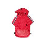 View Image 3 of Base Jumper Raincoat Wind Breaker by Puppia - Red