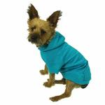 View Image 4 of Basic Dog Hoodie - Bluebird
