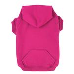 View Image 1 of Basic Dog Hoodie - Raspberry Sorbet