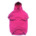 View Image 2 of Basic Dog Hoodie - Raspberry Sorbet