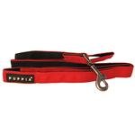 View Image 1 of Basic Dog Leash by Puppia - Red