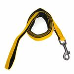 View Image 1 of Basic Two Tone Dog Leash by Puppia - Yellow