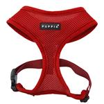View Image 1 of Basic Soft Dog Harness by Puppia - Wine