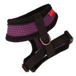 View Image 2 of Basic Soft Harness by Puppia - Purple