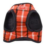 View Image 3 of Baxter Vest Style Dog Harness by Puppia Life - Orange