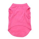View Image 3 of Be Mine Screen Print Dog Tank - Bright Pink