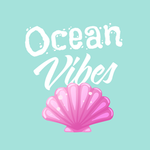 View Image 2 of Ocean Vibes Dog Shirt - Teal