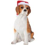 View Image 1 of Beagle Christmas Ornament - Sitting