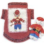 View Image 1 of Beary Merry Christmas Dog Sweater And Toy Set By Oscar Newman