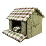View Image 2 of Beaufort House Dog Bed by Puppia - Olive