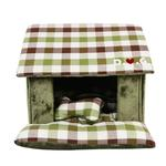 View Image 1 of Beaufort House Dog Bed by Puppia - Olive