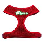 View Image 1 of Believe Mesh Dog Harness - Red