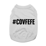 View Image 1 of Covfefe Dog Shirt - Gray
