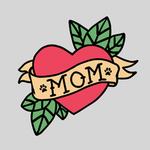 View Image 2 of Mom Tattoo Dog Shirt - Gray