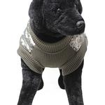 View Image 3 of Big Dog Bomber Camo Dog Vest by Gooby - Green