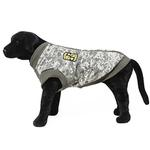 View Image 4 of Big Dog Bomber Camo Dog Vest by Gooby - Green