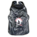 View Image 1 of Biker Vest Dog Harness by Doggles - Moon Howlers