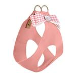 View Image 2 of Peaches & Cream Houndstooth Big Bow Step-In Dog Harness by Susan Lanci