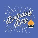 View Image 2 of Birthday Boy Dog Shirt - Blue