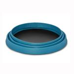 View Image 4 of Bivy Travel Dog Bowl By RuffWear - Blue Spring