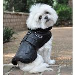 View Image 3 of Top Dog Flight Harness Coat by Doggie Design - Black
