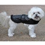 View Image 5 of Top Dog Flight Harness Coat by Doggie Design - Black