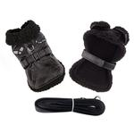 View Image 2 of Top Dog Flight Harness Coat by Doggie Design - Black