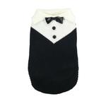 View Image 1 of Black Tux Dog Sweater by Hip Doggie