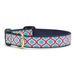 View Image 1 of Blue Kismet Dog Collar by Up Country