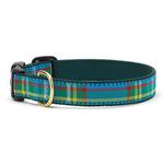 View Image 1 of Kendall Plaid Dog Collar by Up Country