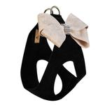 View Image 2 of Champagne Glitzerati Nouveau Bow Step-In Dog Harness by Susan Lanci - Black