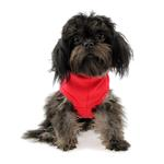 View Image 1 of Blank Ribbed Dog Tank - Red