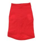 View Image 4 of Blank Ribbed Dog Tank - Red