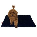 View Image 1 of Bella Dog Blanket by The Dog Squad - Black