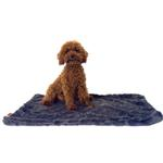 View Image 1 of Bella Dog Blanket by The Dog Squad - Charcoal