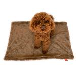 View Image 1 of Bella Dog Blanket by The Dog Squad - Mocha