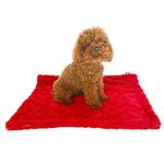 View Image 1 of Bella Dog Blanket by The Dog Squad - Red