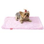 View Image 2 of Paisley Dog Blanket by The Dog Squad - Pink